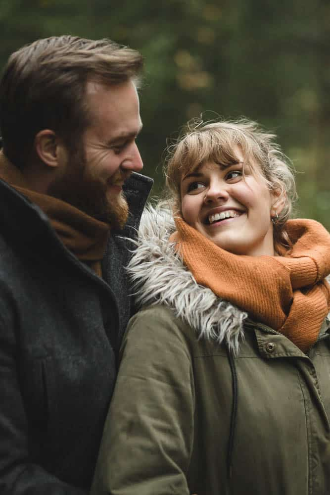 Forest engagement photography from Gjeving