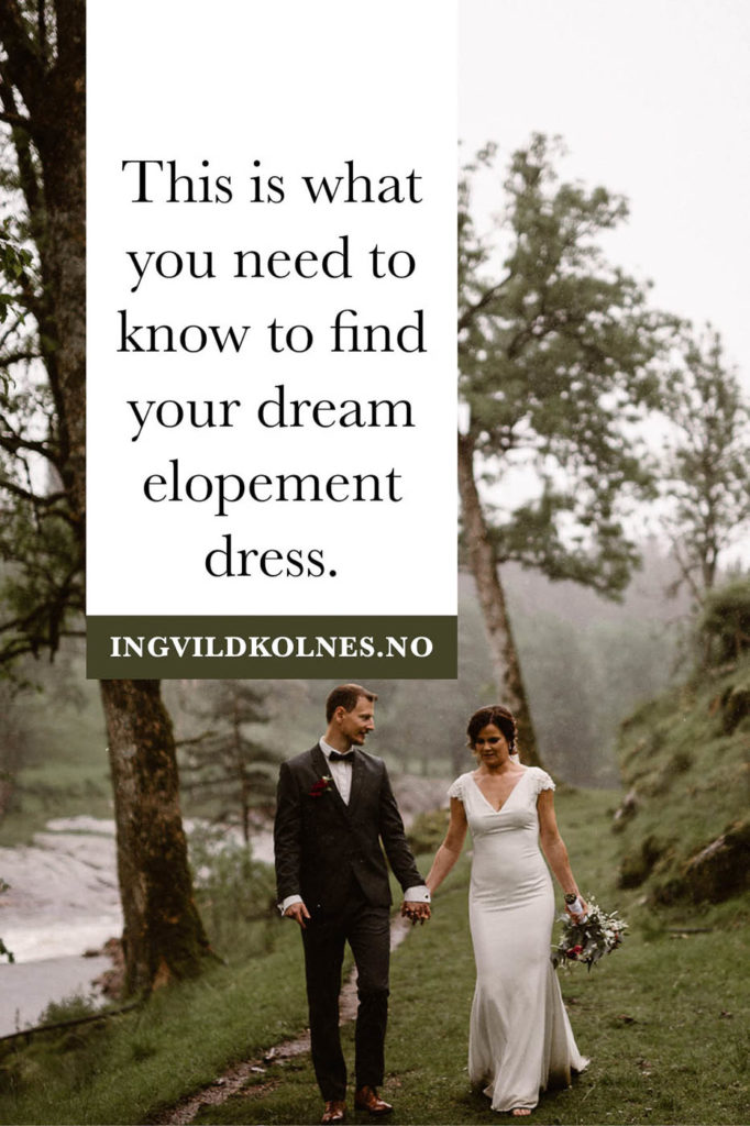 How to find your dream elopement dress