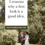 Why do a first look? (And what is it, anyway?!) Ingvild Kolnes