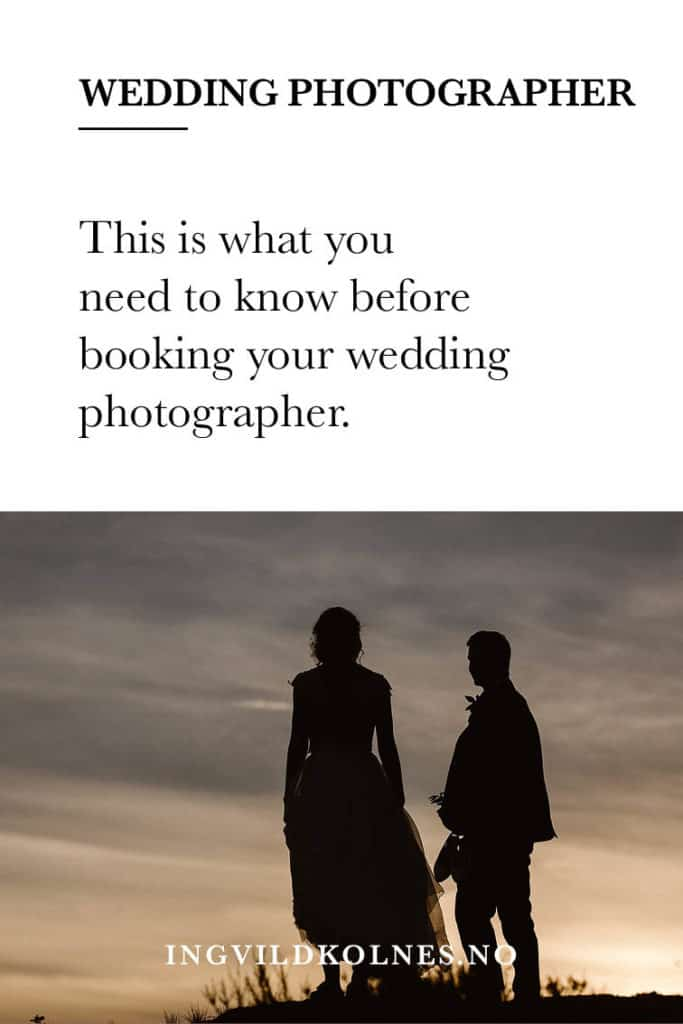 How to decide on the right wedding photographer for you