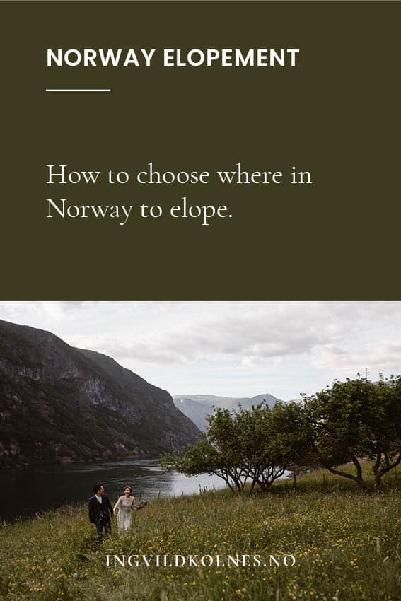 Where in Norway can we elope?