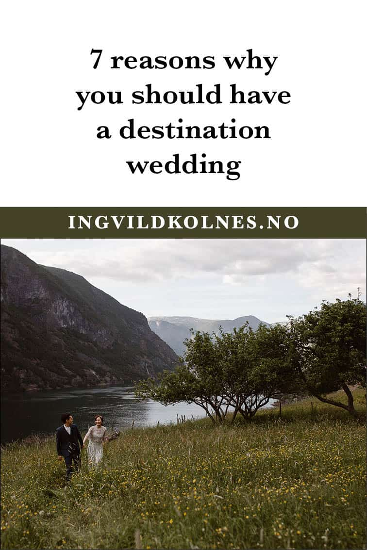 If you want to do a destination wedding you should.