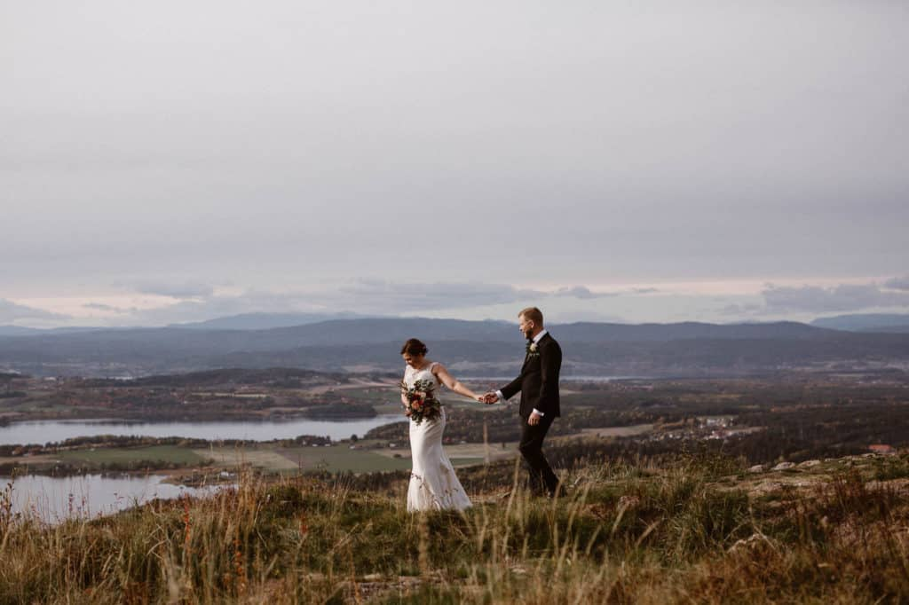 Fall wedding in Eastern Norway